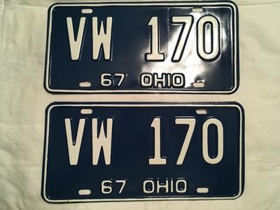 Picture of 1967 Ohio Pair #VW-170
