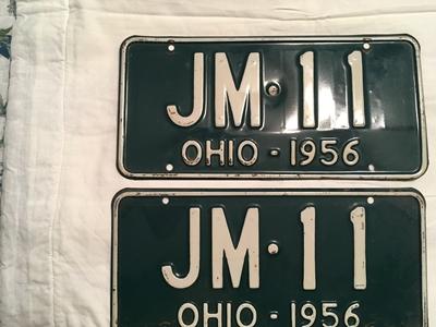 Picture of 1956 Ohio Pair #JM-11