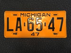 Picture of 1947 Michigan #LA-65-47