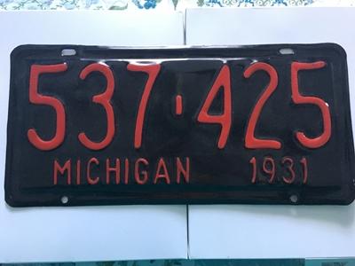 Picture of 1931 Michigan #537-425