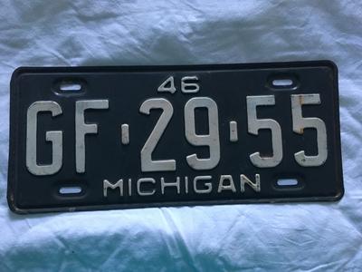 Picture of 1946 Michigan #GF-29-55