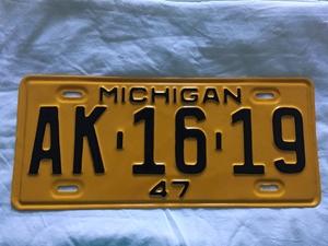 Picture of 1947 Michigan #AK-16-19
