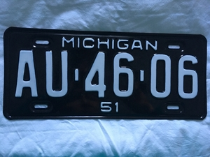 Picture of 1951 Michigan #AU-46-06