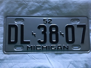 Picture of 1952 Michigan #DL-38-07