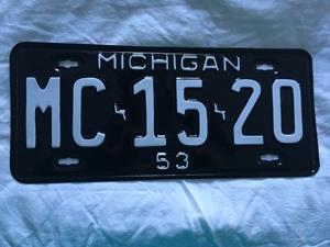 Picture of 1953 Michigan #MC-15-20