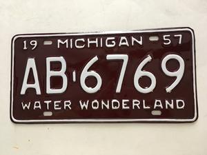 Picture of 1957 Michigan #AB-6769