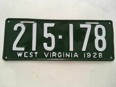 Picture of 1928 West Virginia #215-178