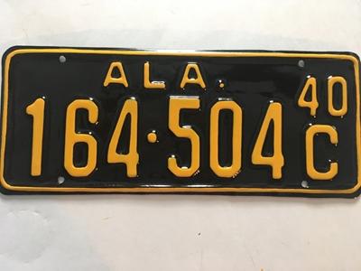Picture of 1940 Alabama #164-504C