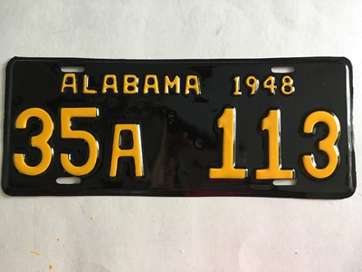 Picture of 1948 Alabama #35A-113