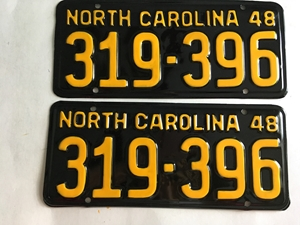 Picture of 1948 North Carolina Car Pair #319-396