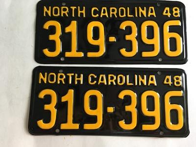 Picture of 1948 North Carolina Car Pair #319-396