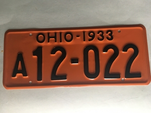 Picture of 1933 Ohio A12-022