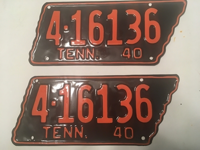 Picture of 1940 Tennessee Pair #4-16136