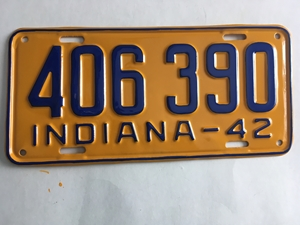 Picture of 1942 Indiana #406-390