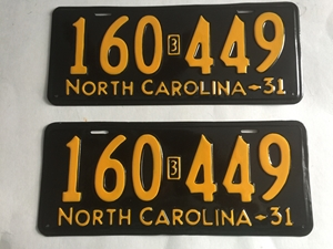 Picture of 1931 North Carolina Car Pair #160-449
