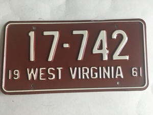 Picture of 1961 West Virginia #17-742