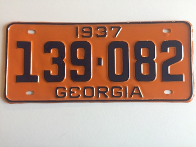 Picture of 1937 Georgia Car #139-082