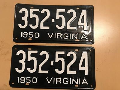 Picture of 1950 Virginia Car Pair #352-524
