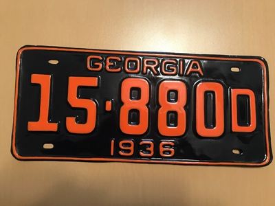Picture of 1936 Georgia #15-880D