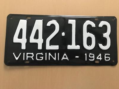 Picture of 1946 Virginia Car #442-163