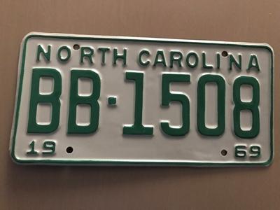 Picture of 1969 North Carolina Car #BB1508