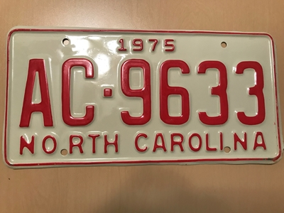 Picture of 1975 North Carolina #AC-9633