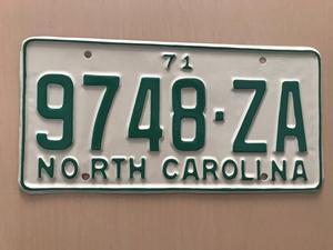 Picture of 1971 North Carolina Truck #9748-ZA