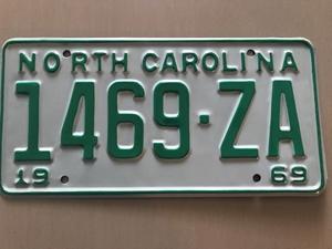 Picture of 1969 North Carolina Truck #1469-ZA