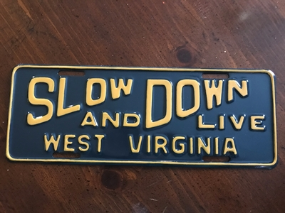 Picture of 1957 West Virginia Slow Down &Live