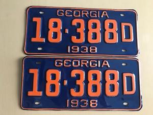 Picture of 1938 Georgia Car Pair #18-388D