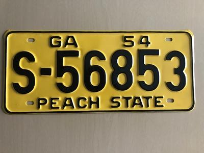 Picture of 1954 Georgia Car #S-56853