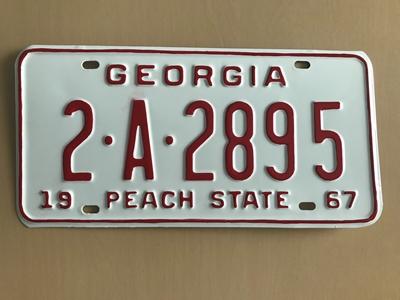 Picture of 1967 Georgia Car #2-A-2895