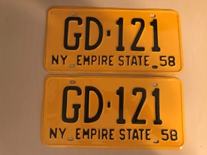 Picture of 1958 New York Pair #GD-121