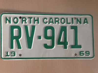 Picture of 1969 North Carolina Car #RV-941