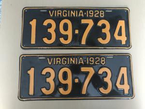 Picture of 1928 Virginia Car Pair #139-734