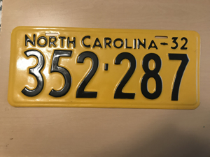 Picture of 1932 North Carolina Car  #352-287