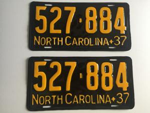 Picture of 1937 North Carolina Car  #527-884