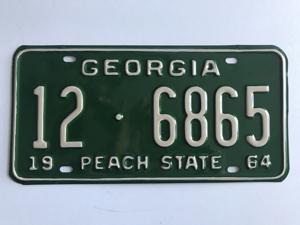 Picture of 1964 Georgia Car #12-6865