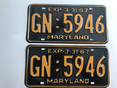Picture of 1967 Maryland Car Pair #GN-5946