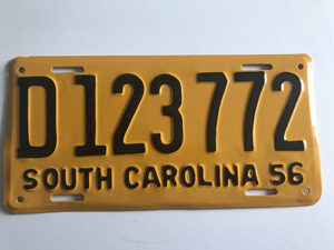 Picture of 1956 South Carolina Car #D123772