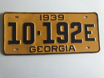 Picture of 1939 Georgia #10-192E
