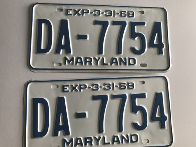 Picture of 1968 Maryland Car Pair #DA-7754