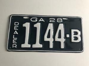 Picture of 1928 Georgia Dealer #1144 B