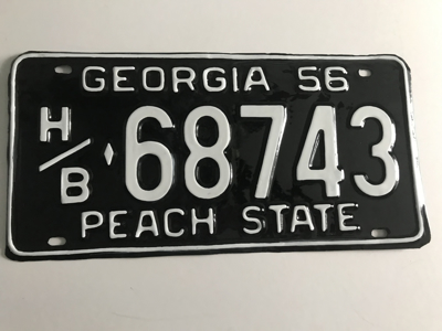 Picture of 1956 Georgia Truck #H/B 68743