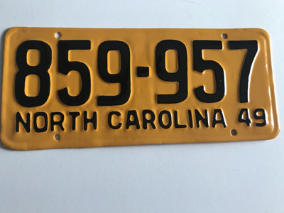 Picture of 1949 North Carolina Truck #859-957