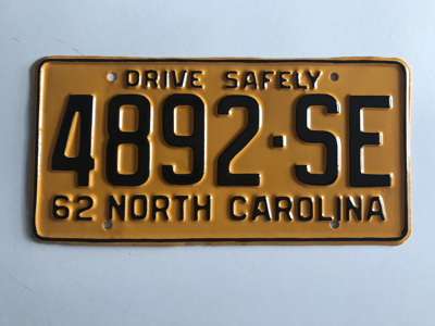Picture of 1962 North Carolina Truck #4892-SE