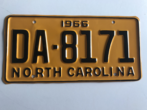 Picture of 1966 North Carolina Car #DA-8871