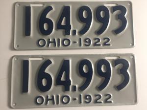 Picture of 1922 Ohio # 164-993