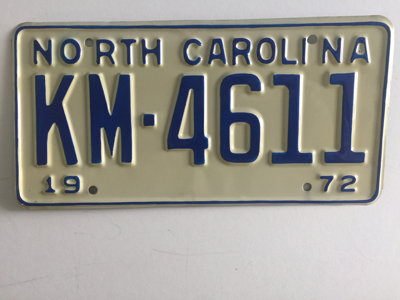 Picture of 1972 North Carolina #KM-4611