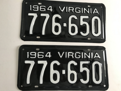 Picture of 1964 Virginia Car Pair #776-650